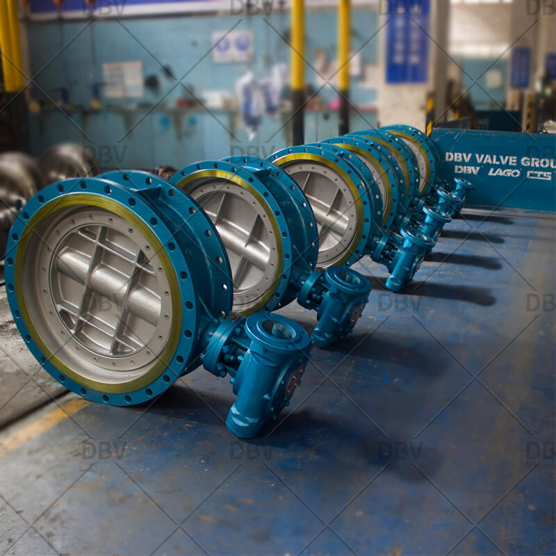 Whole sale butterfly valve factory