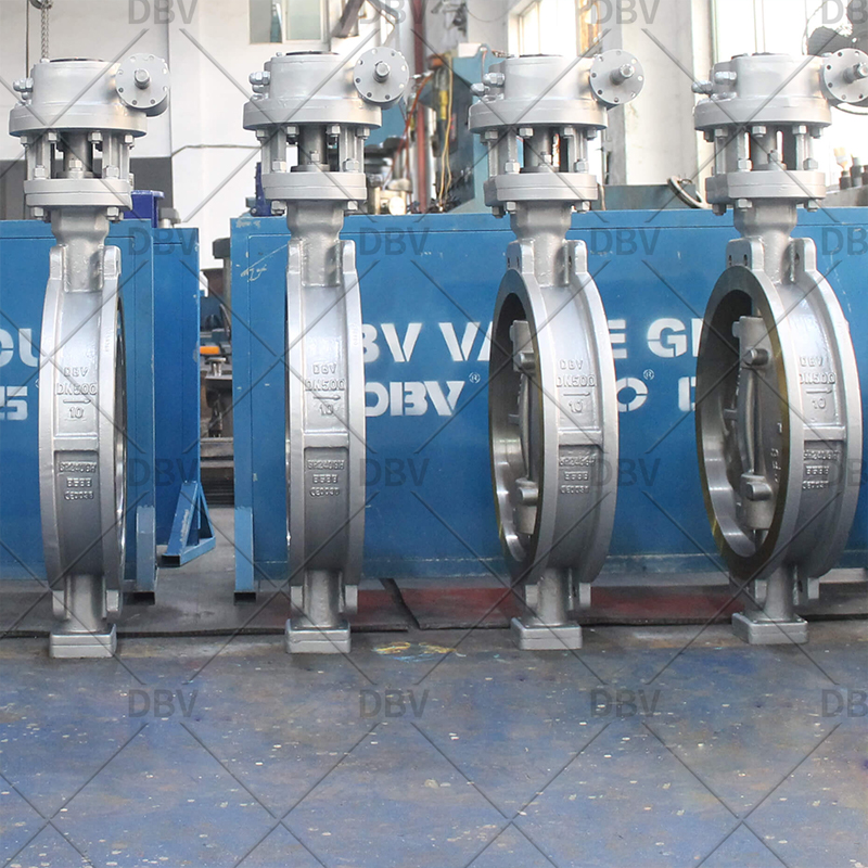 Triple Eccentric Wafer Butterfly Valve