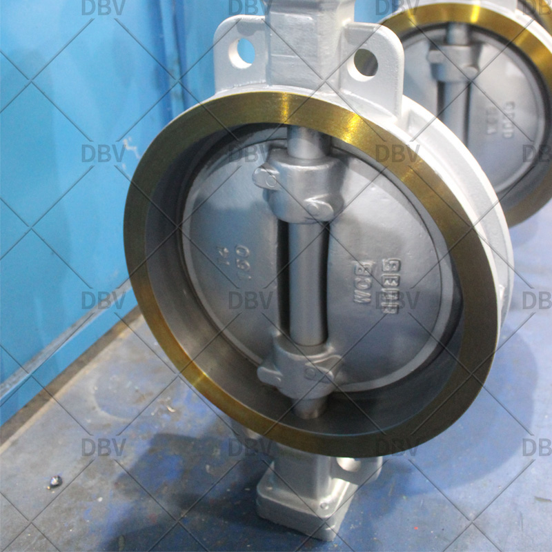 triple offset butterfly valve wafer type