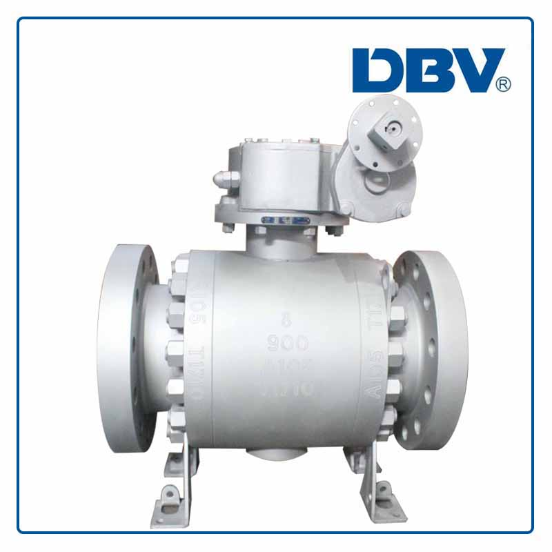 High PressureTrunnion Mounted forged Ball Valve