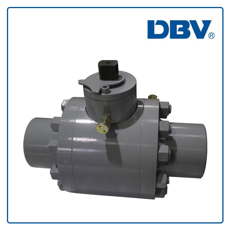 Butt Welding Trunnion mounted Ball Valve