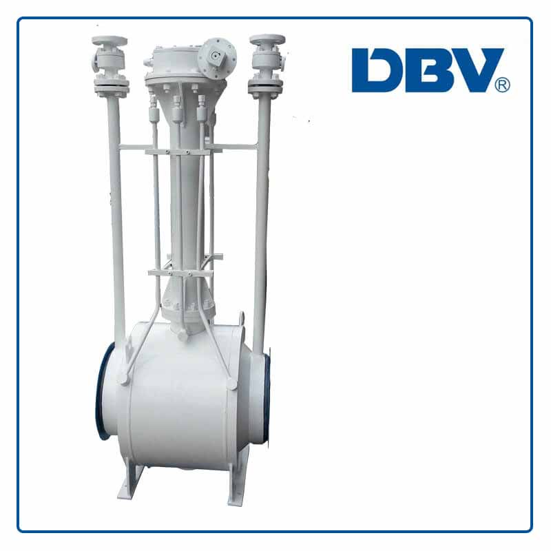 Fully welded ball valve manufacturer in China