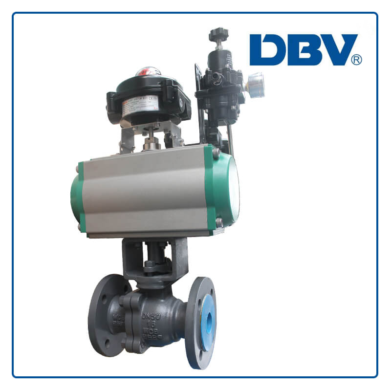 Pneumatic Carbon Steel Floating Ball Valve