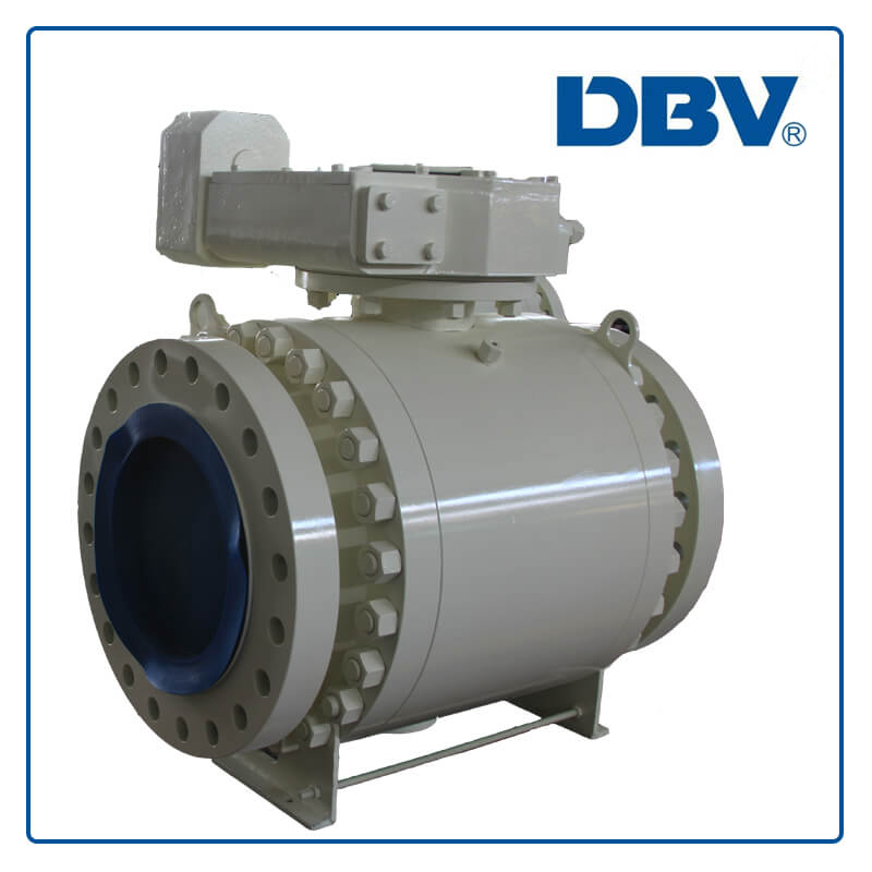 3 PC/3 piece forged Trunnion Ball Valve