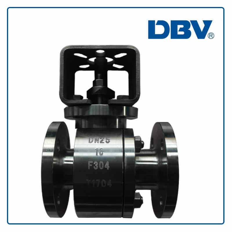 Stainless Steel Flange Floating Ball Valve