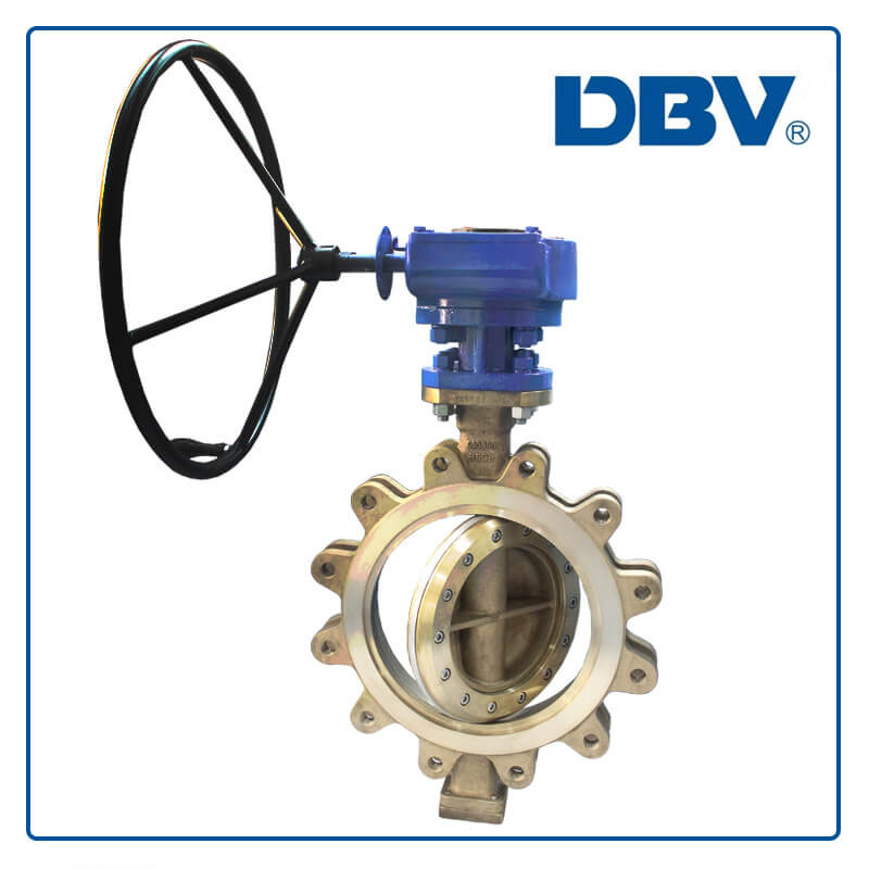 Bronze C95800 LugTriple Eccentric Butterfly Valves