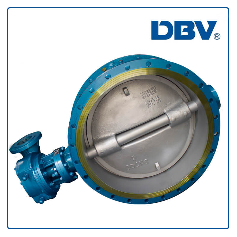 High quality flange butterfly valve