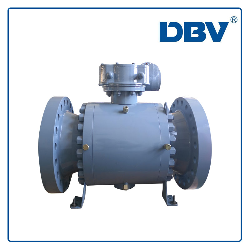 Trunnion mounted forged steel ball valve Reduce bore