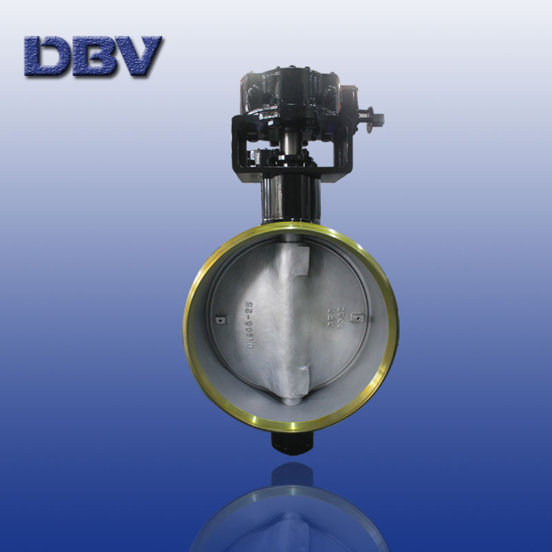 Renewable seat metal to metal seat triple eccentric butterfly valve