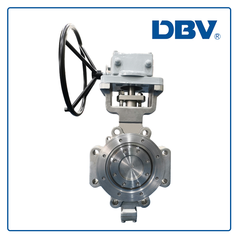Lug type metal to metal renewable seat butterfly valve with special material 5A