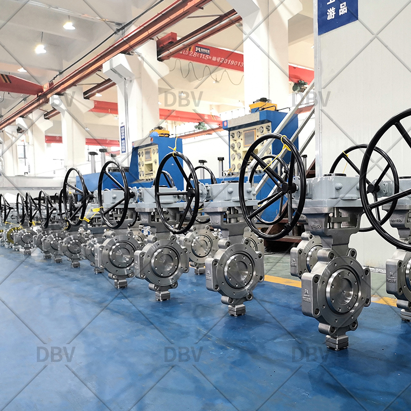 Metal to Metal Renewable Seat Butterfly Valve