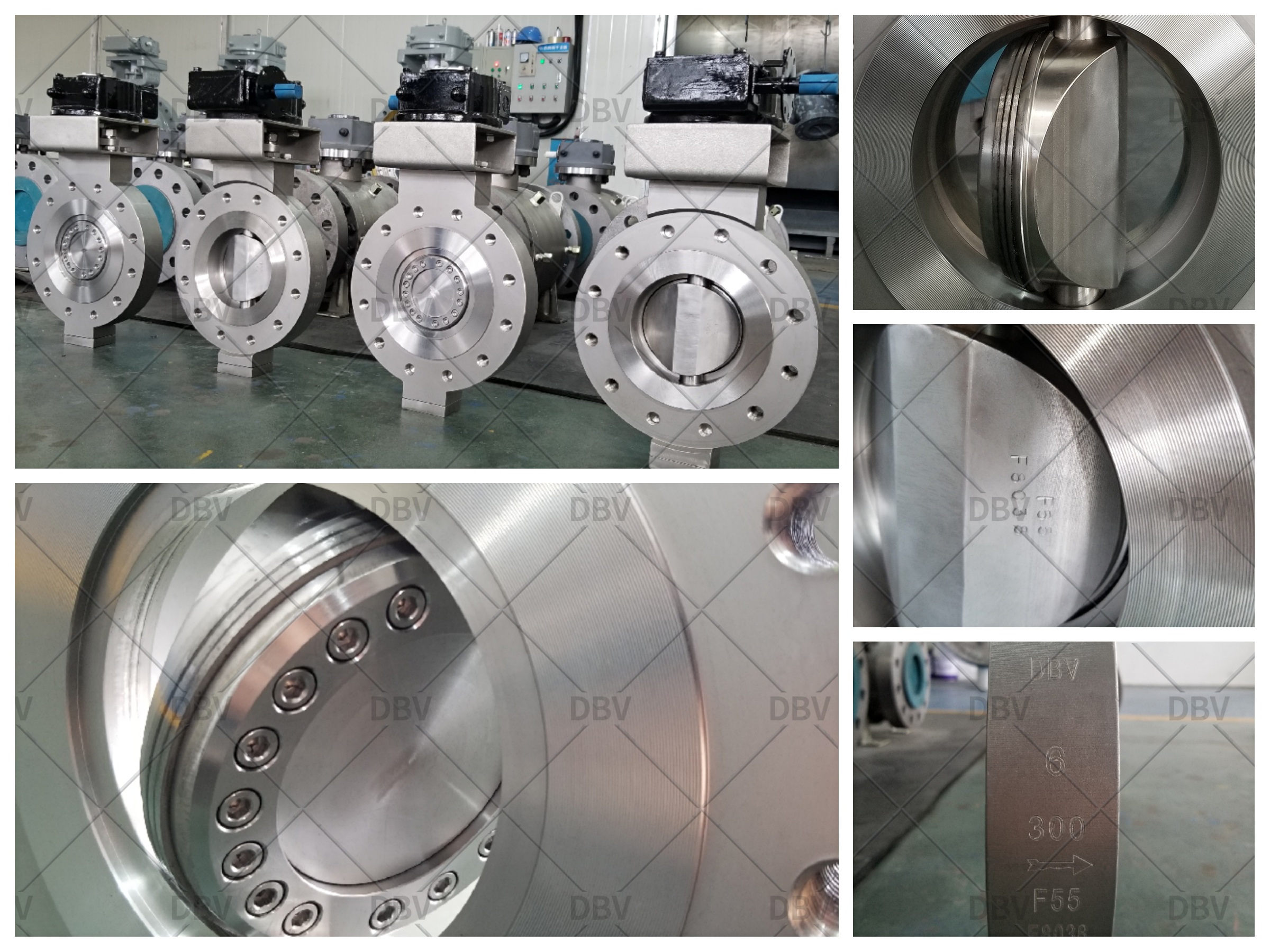 Forged body butterfly valve