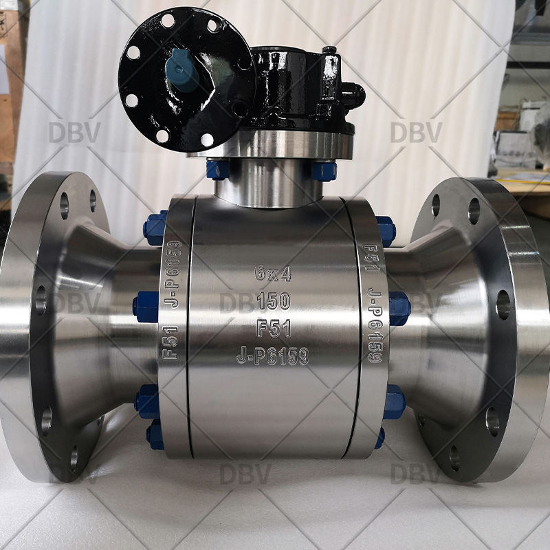 Duplex stainless steel F51 forged ball valve manufacturer in China