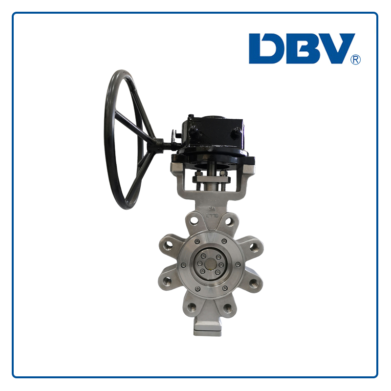 Triple eccentric/Offset metal to metal seat wafer Lug Butterfly Valve