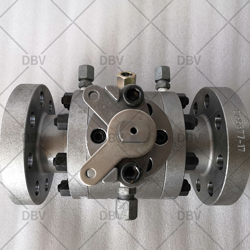 trunnion mounted forged ball valve manufacturer in China