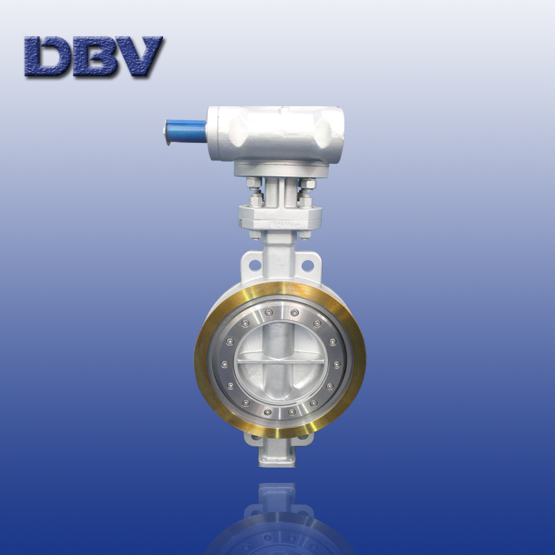 Wafer type carbon steel  butterfly valve Class150 DN350
