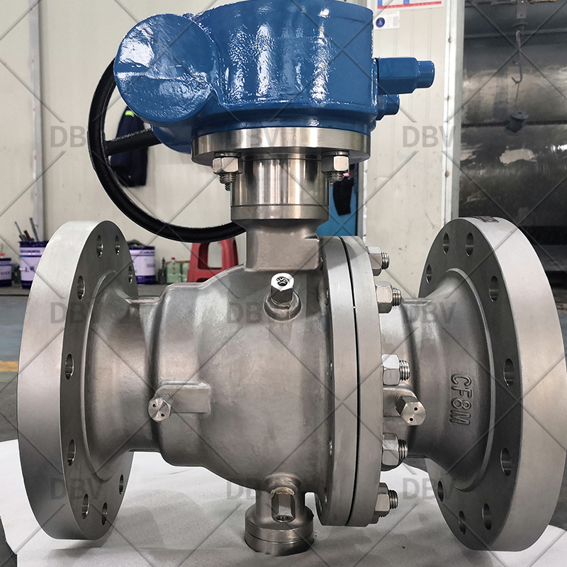 High quality flanged ball valve manufacturer