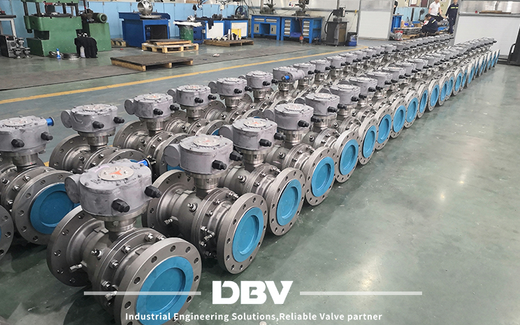 "8""*6""-300# ball valves were sent to our Oman customer on time"
