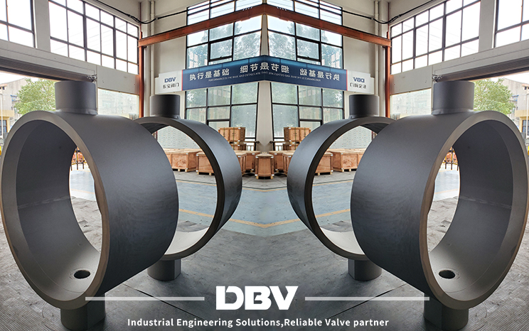 Raw material of butterfly valve
