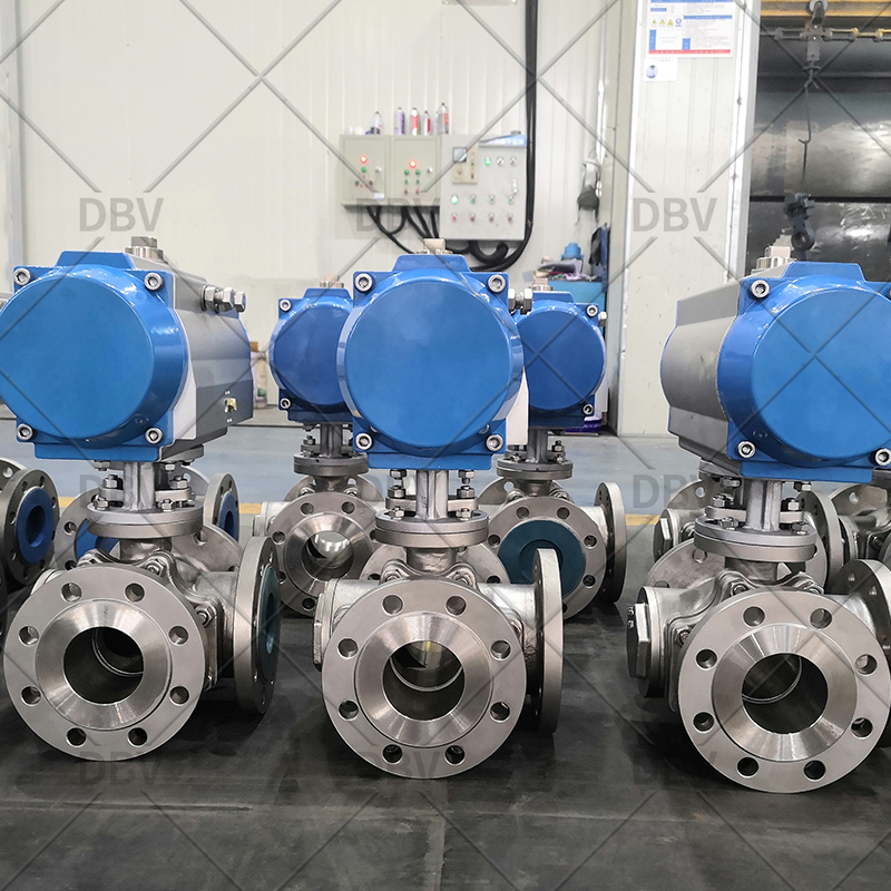 Ball valve with pneumatic manufacturer factory
