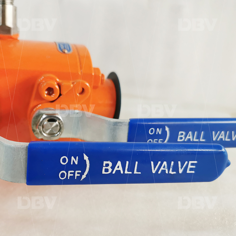 Double block and bleed ball valve factory