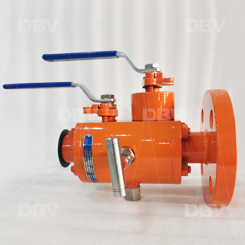 Double block and bleed ball valve manufacturer