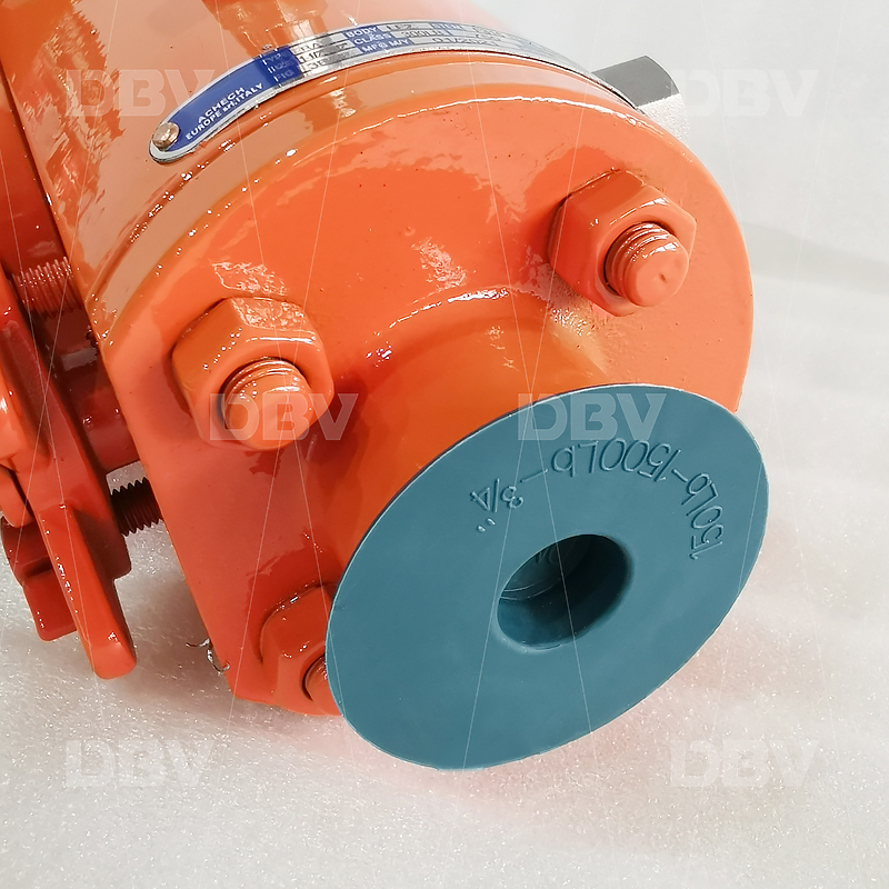 High quality Double block and bleed ball valve