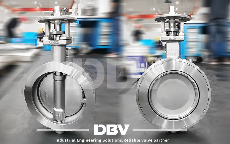 H-C276 Triple Offset Butterfly Valve