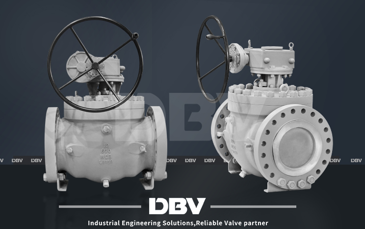 DBV Top entry Trunnion Ball Valve